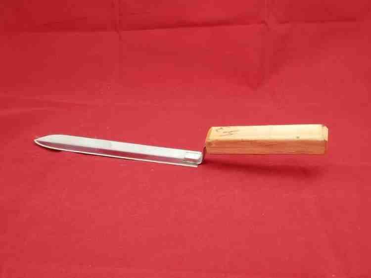 Для пасеки-пчеловодческий нож угловой (нержавеющая сталь + дерево)