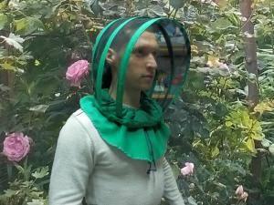 Лицевая маска пчеловода евро из габардина