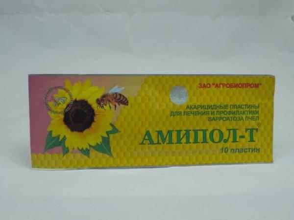 Амипол -Т средство против варроатоза пчел