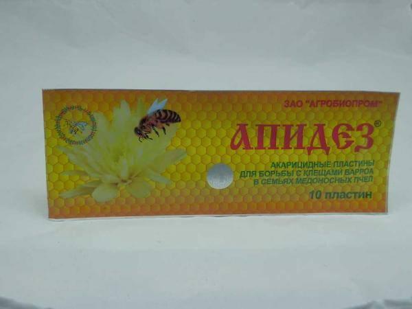 Апидез, средство против варроатоза пчел