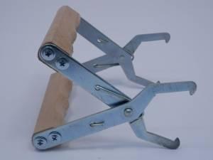 Захват для рамок (нержавеющая сталь + дерево)