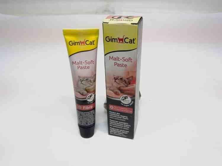 Паста для вывода шерсти джимкет Gim Cat Malt-Soft