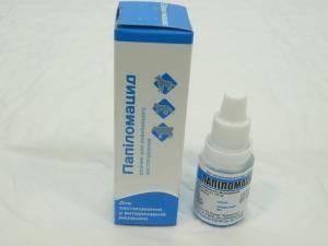 Раствор Папиломацид, 10 мл(ветеринарный препарат)