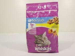 Whiskas (Вискас) Sterileдля стерильных кошек