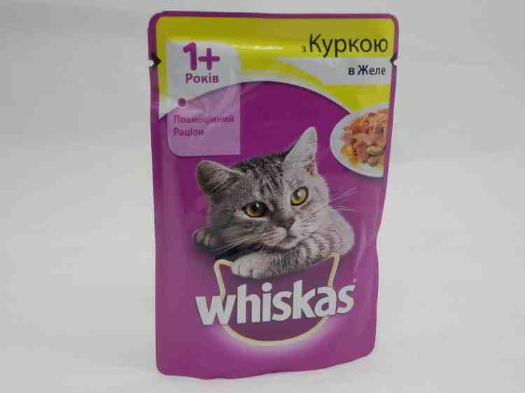 Влажный корм для кошек Whiskas