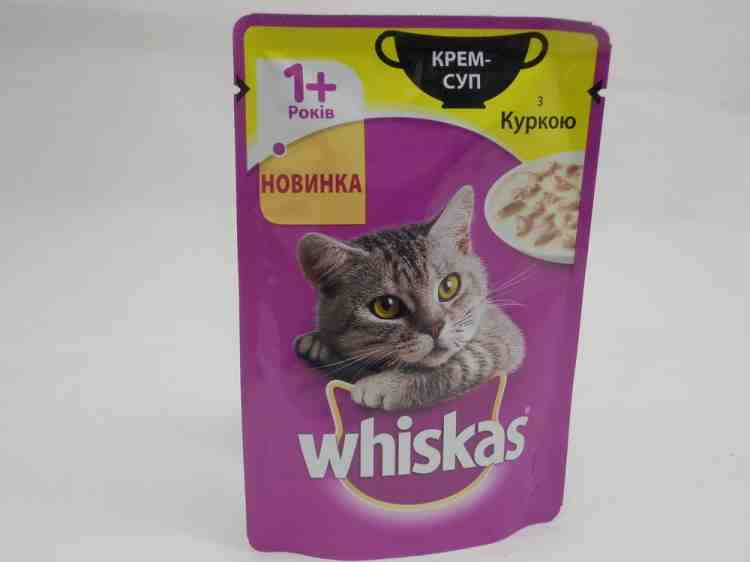 Консервы для кошек Whiskas