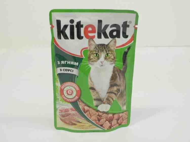 Влажный корм для кошек Kitekat (Китикэт)