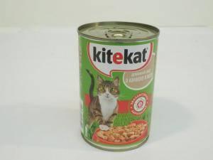 Консервы Kitekat (Китикэт) домашний обед для взрослых кошек, 400 г