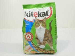 Kitekat сухой корм взрослых кошек - рыбное ассорти