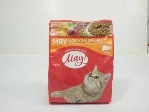 Сухой корм Мяу для взрослых кошек
