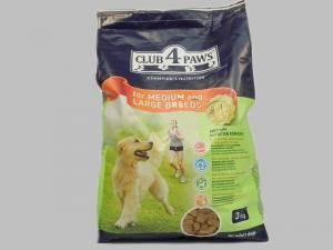 Сухой корм Клуб 4 лапы для взрослых собак