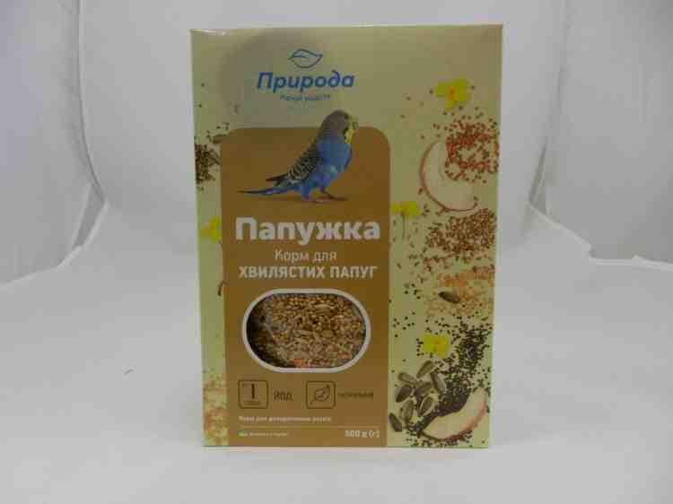 Папужка, корм для волнистых попугаев  - 575 г