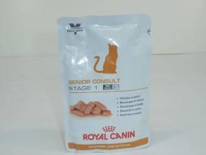 Влажный корм для кошек и котов старше 7 лет Royal Canin Senior Consult Stage 1(Сеньор Консалт Стейдж 1)
