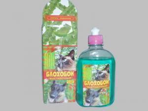 Шампунь для собак и кошек от блох Блохобой