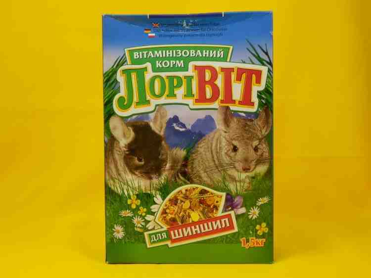 Лоривит витаминизированный корм для шиншилл
