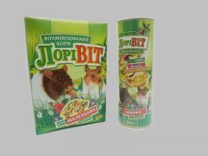 Лоривит, корм-деликатесдля маленьких грызунов