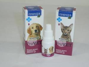 Отостоп ProVеткапли ушные для кошек и собак