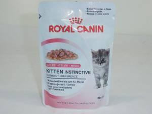 Влажный корм для котят  и беременных кошек Royal Canin Kitten Instinctive (Роял Канин для котят)