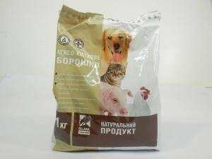 Мясо-костная мука- белково-минеральный корм для животных