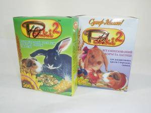 Рокки - 2,  корм для кроликов и морских свинок