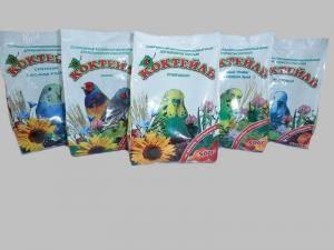 Коктейль Суперменю - корм для волнистых попугаев