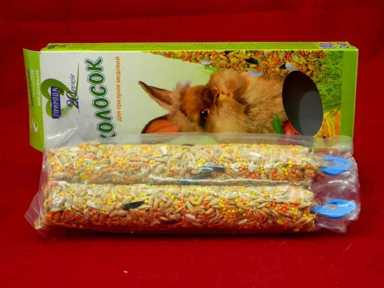 Колосок Медовый Природа - корм для грызунов, 140 г