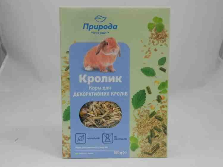 ПриродаКролик - корм для декоративных кроликов
