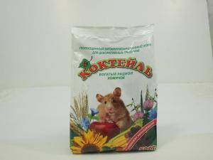 Коктейль Хомячок - богатый рациондля хомяков и мышей