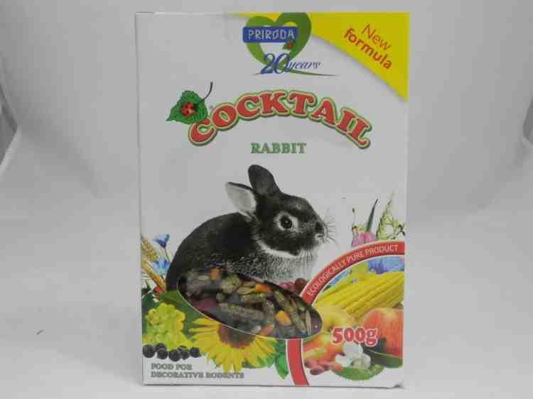 КоктейльКролик - корм для декоративных кроликов