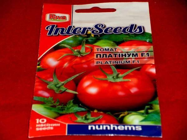 Семена томатов платинум