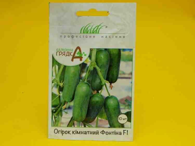 Семена огурца Комнатный Фонтина F1 20 шт