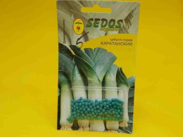Семена дражированные Лук Порей Каратанский