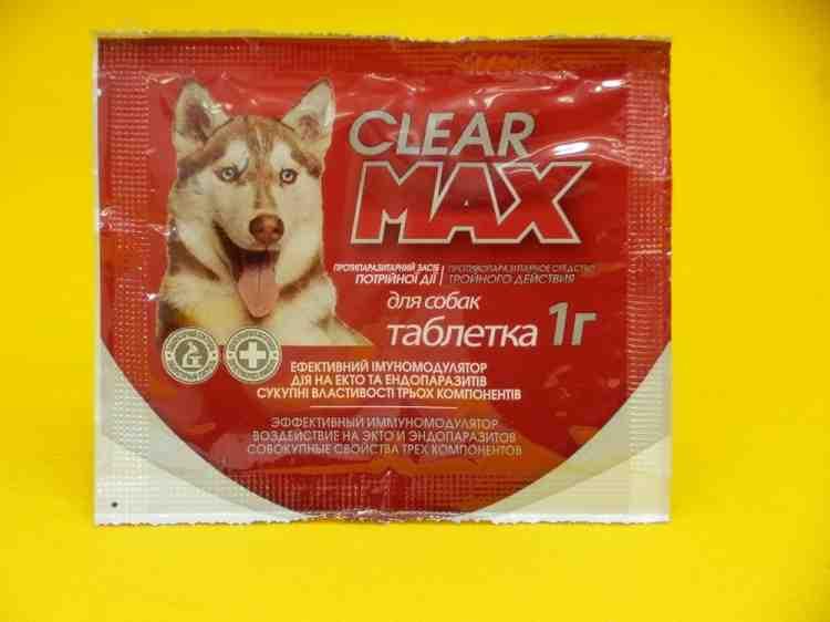 Clear Max (Клеар Макс), противопаразитарное средство для собак