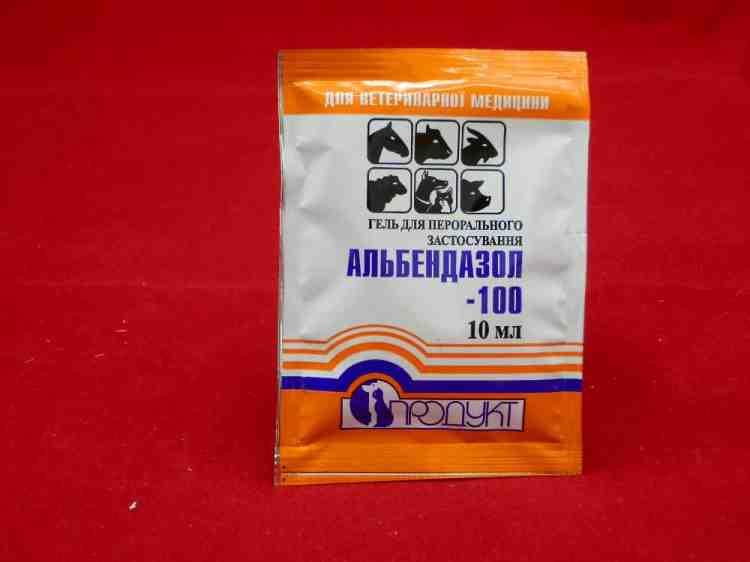 Альбендазол гель