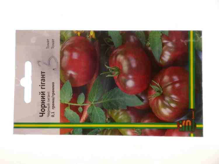 Семена томатов сорта Гигант Черный