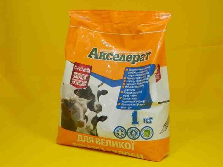 Акселерат, аминокислотный витаминно-минеральный комплекс Для кроликов и нутрий