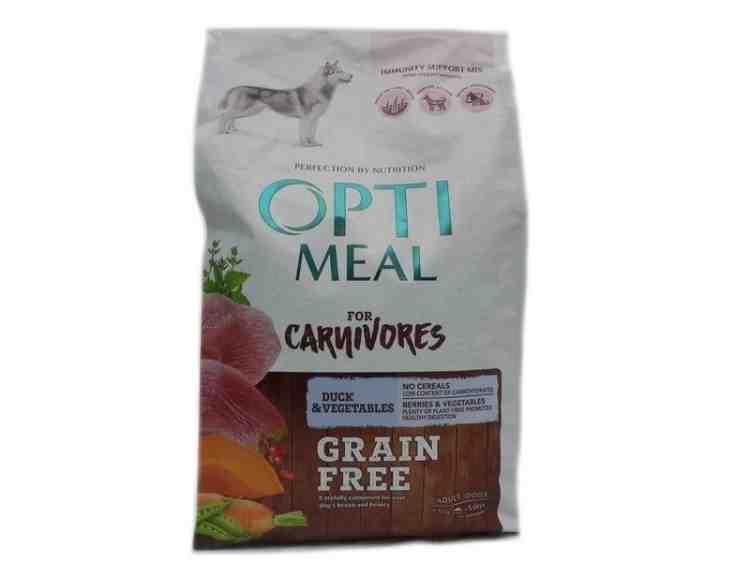 Optimeal (Оптимил) с уткой и овощами