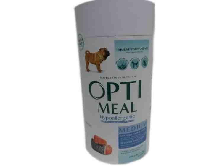 OptiMeal Hypoallergenic (ОптиМил гипоаллергенный) с лососем сухой корм для взрослых собак