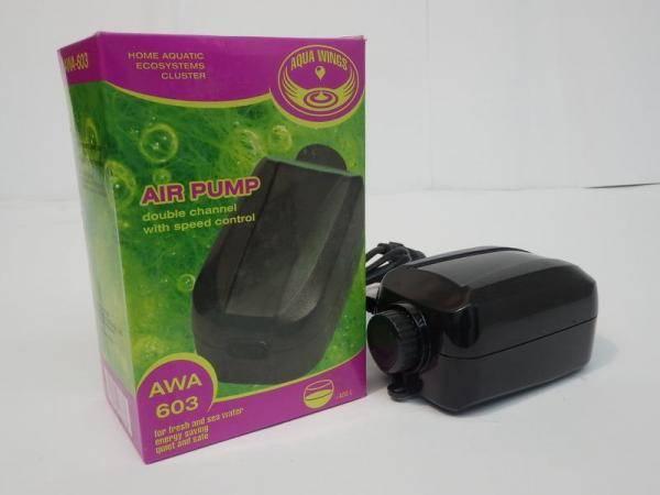 Компрессор аквариумный двухканальный AWA 668