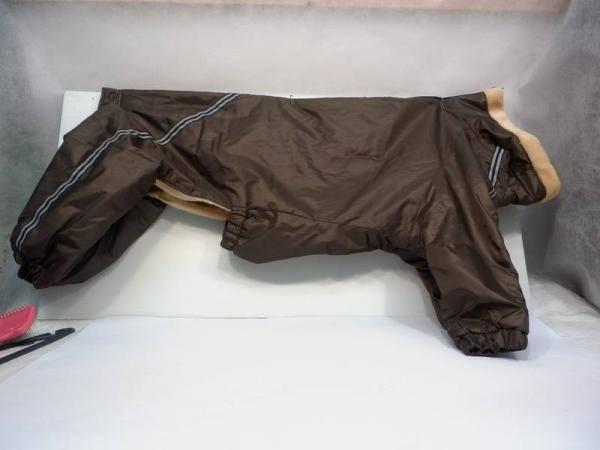 Комбинезон Доберман №1 мех - коричневый