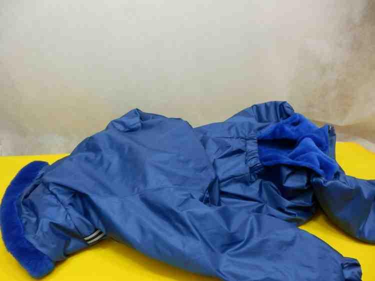 Комбинезон Доберман №1 мех  (одежда для собак)
