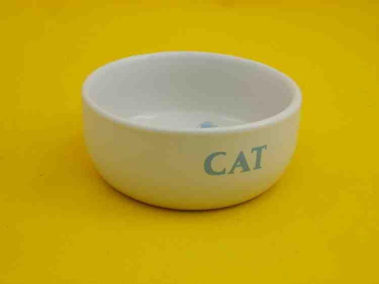 Миска керамическая для кормления котов