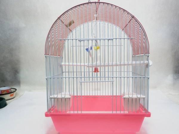 Клетка для птиц (попугаев, канареек) ИнтерЗОО окрашенная