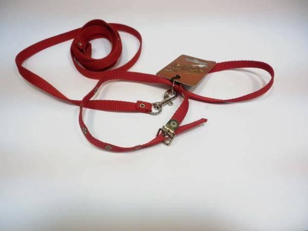Комплект шлея и поводок для мелких пород собак