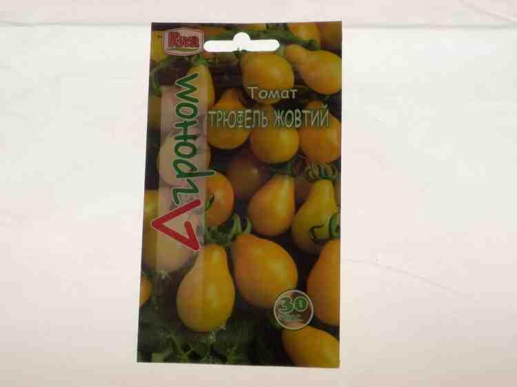 Семена томатов Трюфель желтый