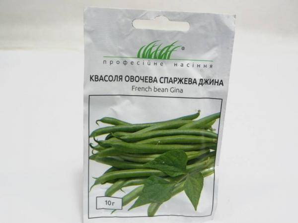 Семена фасоли овощной спаржевой Джина - 10 г