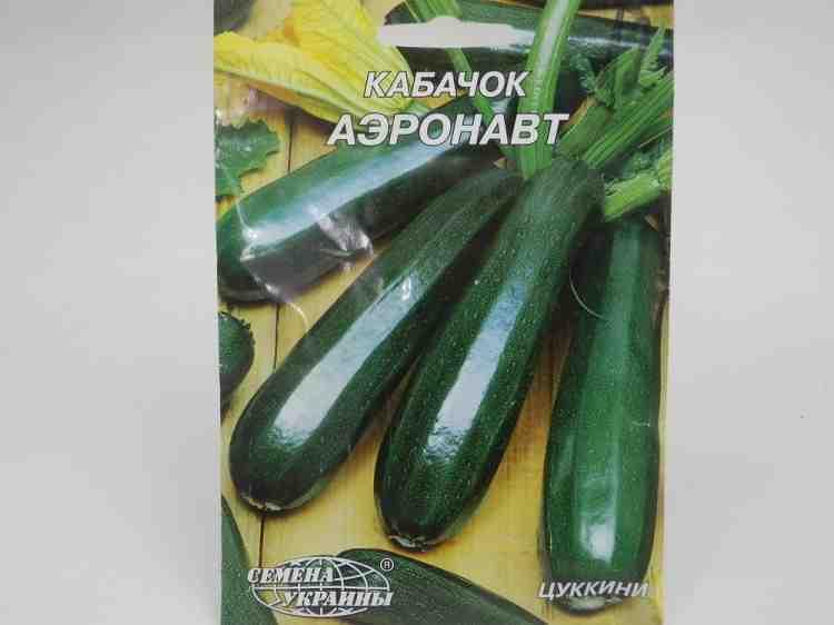 Семена кабачков Аэронавт