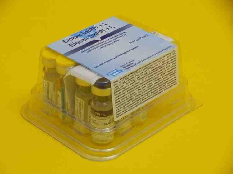 Биокан Biocan DHPPi +L  для собак