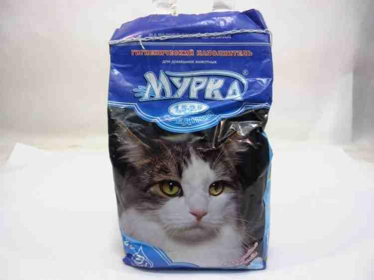 Наполнитель для кошачьих туалетов Мурка