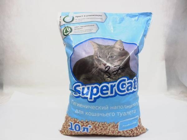 Супер кот - гигиенический наполнитель для кошачьего туалета 10л.